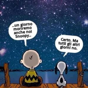 Un giorno moriremo tutti, Snoopy!